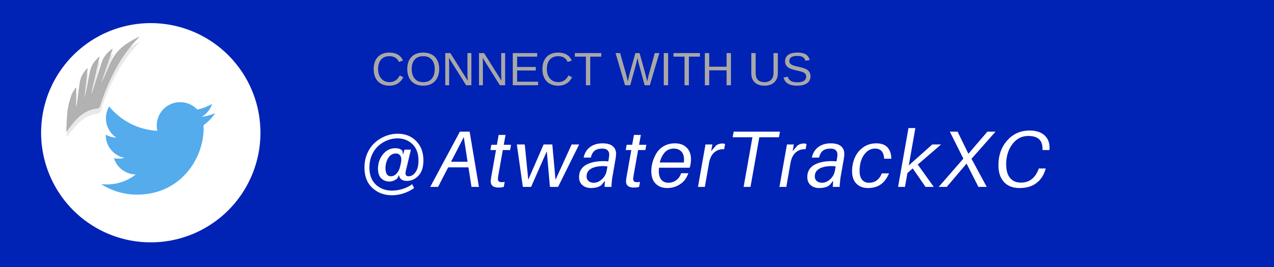 Connect with US @AtwaterTrackerXC