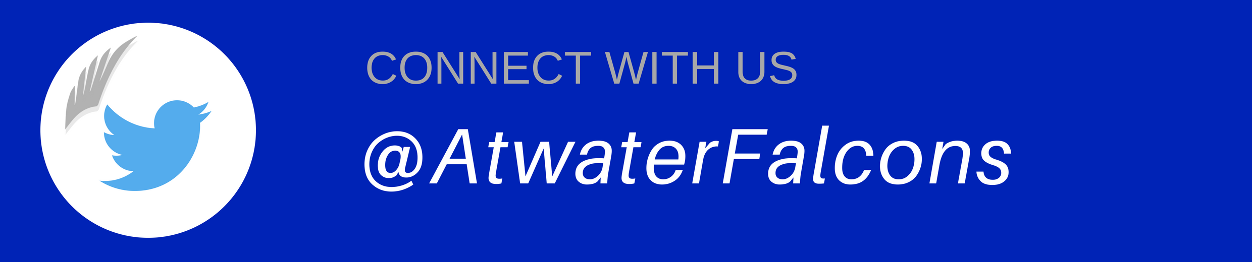 Twitter @AtwaterFalcons